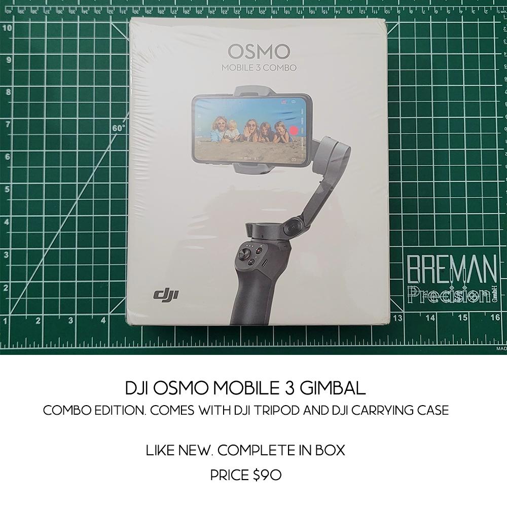 DJI OSMO 3